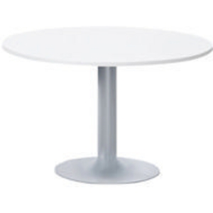 Table de snack EOL ronde 80 x 120 cm blanc