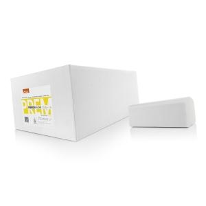 Essuie-mains en C Satino Premium 2 plis - le paquet de 2880 feuilles