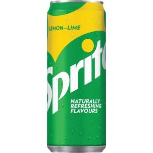 Sprite boisson non-alcoolisé cannette 33 cl - paquet de 24