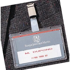 Badge pour carte magnétique 86x54mm