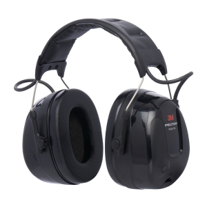 Casque auditif actif 3M Peltor Protac III - SNR 32dB - noir