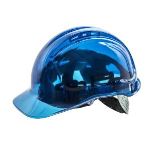 Casque de sécurité translucide Portwest Peak View PV54, blue