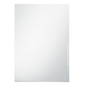 Leitz 4100 pochettes coins A4 PVC 15/100e transparentes - boîte de 100