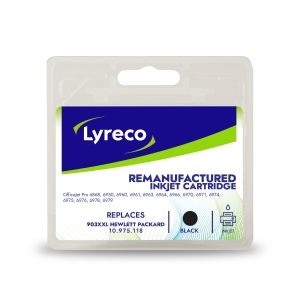 Lyreco compatible HP T6M15AE cart jet d encre nr.903XL jumbo black [1.600 pages]