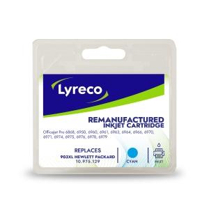 Lyreco compatible HP T6M03AE cartouche jet d encre nr.903XL bleue [825 pages]