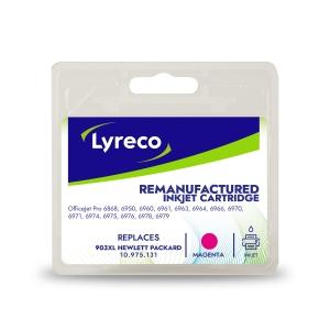 Lyreco compatible HP T6M07AE cartouche jet d encre nr.903XL rouge [825 pages]