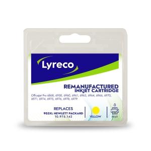 Lyreco compatible HP T6M11AE cartouche jet d encre nr.903XL jaune [825 pages]