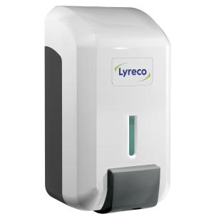 Distributeur de savon pour les mains Lyreco blanc