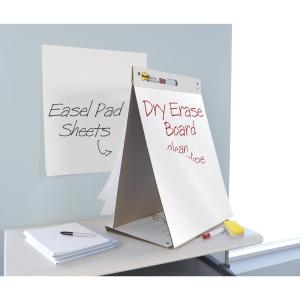 Post-it® Table Top Chart, feuilles conférence autocollantes, avec tableau blanc