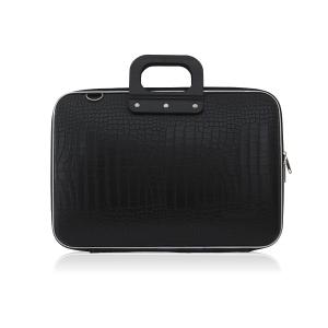 Mallette pour ordinateur portable Bombata Siena - noir