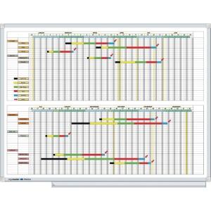 Legamaster 406000 tableau de planification 52 colonnes/semaines 90x120cm
