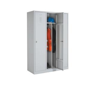 Armoire penderie industrielle EOL 3 portes - 120 cm