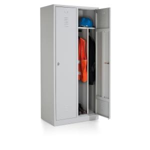 Armoire penderie industrielle EOL 2 portes - 80 cm