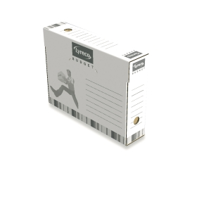 Lyreco Budget boîtes d archives pour listing 26x34xdos 8cm - paquet de 25