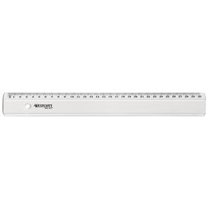 Règle scolaire avec bord antitache 30 cm
