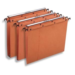 Elba dossiers suspendus AZO tiroirs fond V 330/250 orange - boîte de 25