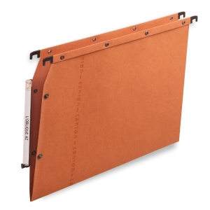 Elba dossiers suspendus AZV pour armoires fond V 330/275 orange - boîte de 25