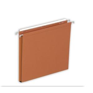 Lyreco Budget dossiers suspendus pour tiroirs 15mm 330/250 orange - boîte de 25