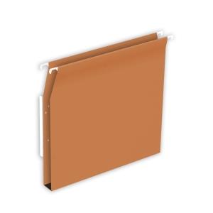 Lyreco Budget dossiers suspendus pour armoires 30mm 330/275 orange - boîte de 25