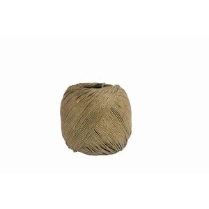 Pelote de corde en lin 2-fils 60m