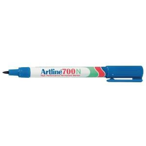 Artline 700N marqueur permanent pointe ogive 0,7mm bleu
