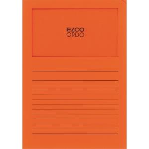 Elco 420511 Ordo pochettes coins avec fenêtre orange - boîte de 100