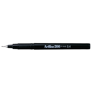 Artline fineliner 200 0,4mm noir