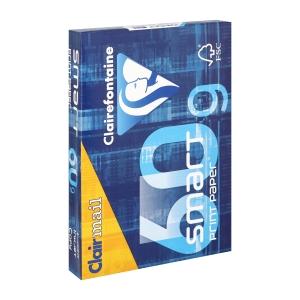 Clairefontaine Smart Print papier blanc A4 60g - 1 boite = 5 ram.de 500 feuilles