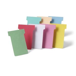 Valrex fiches T indice 3 blanc - paquet de 100