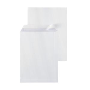 Pochettes 229x324mm bande siliconée 120g extra blanches - boite de 250