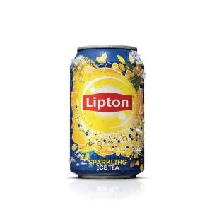 Lipton Ice Tea boisson non-alcoolisé cannette 33 cl - paquet de 24