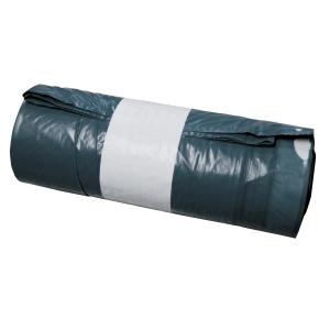 Sac poubelle avec cordon coulissant 120 l - rouleau de 20