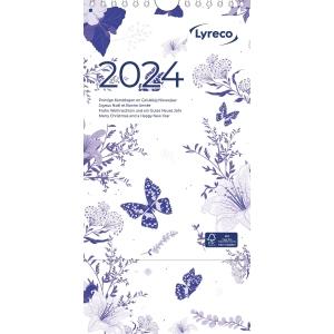 Lyreco calendrier hebdomadaire 17,5x25,5cm