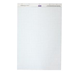 Feuilles de conférence Lyreco 50 pages de 70g 65x100cm - le paquet de 2