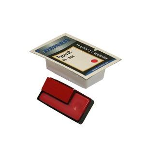 Reiner B6 recharge color box numéroteur type 2 rouge