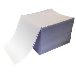 Papier listing 240x11 70g - boite de 2000 feuilles