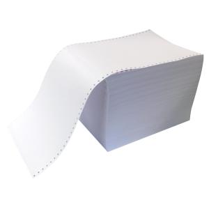 Papier listing 240x12 80g - boite de 2000 feuilles