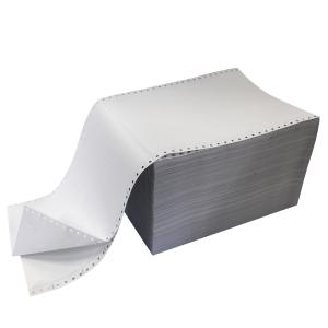 Papier listing 2 plis 240x12 60g - boite de 1000 feuilles