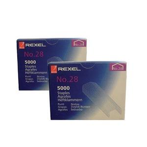 Rexel agrafes nr. 28 - boîte de 5000