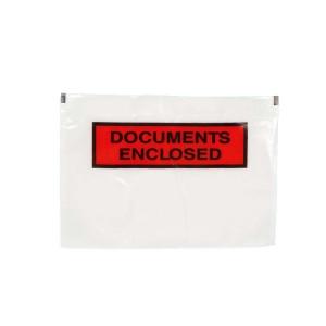 Pochettes Packing List autocollantes 240x165mm imprimé - boite de 1000