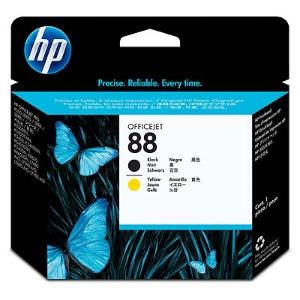 HP C9381A tête impression cartouche jet d encre nr.88 noire/jaune [90.000 pages]