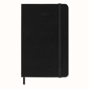 Moleskine Pocket agenda 7 jours/semaine noir