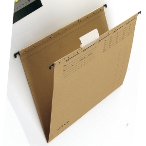 Leitz 1915 dossiers suspendus pour tiroirs A4 chamois