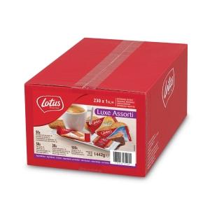 Lotus luxe biscuits assortiment - bonbons - boîte de 230