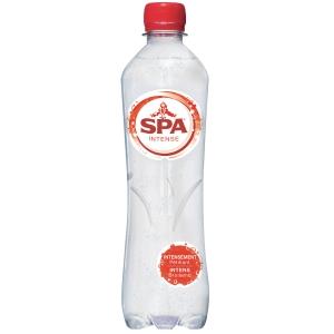 Spa Intense eau pétillante bouteille 0,5 l - paquet de 24