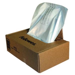 Fellowes 36055 sacs collecteurs destructeur de papier 165 litres - paquet de 50