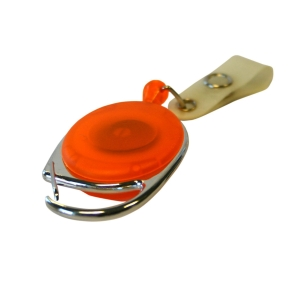 Porte badge avec cordon retractable jojo - paquet de 5