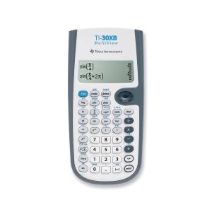 TI-30XB multiview calculatrice scientifique - 4 lignesx16 caractères