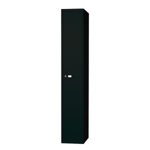Bisley vestiaire avec 1 compartiment 30,5x180,2x45,7cm noir