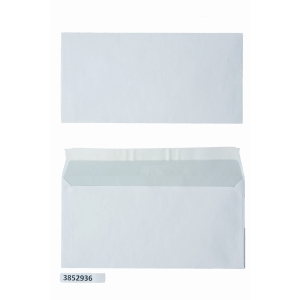 Enveloppes FSC 156x220mm bande siliconée 80g - boite de 500